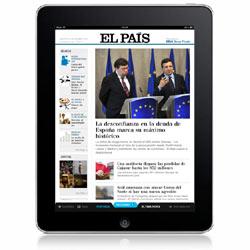 El País conquista la segunda plaza en el Top 10 de las mejores aplicaciones de diarios para el iPad