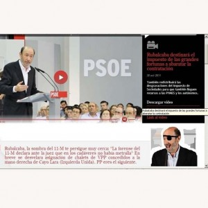 Anonymous hackea la página web de la candidatura de Rubalcaba