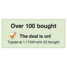 Los contadores de Groupon muestran el número incorrecto de ventas intencionadamente
