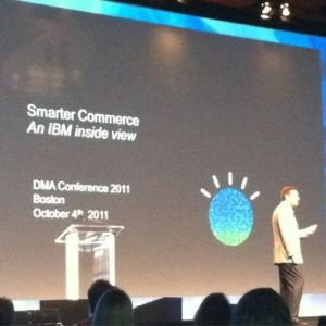 """J.Kennedy (IBM) en la DMA 2011: """"los datos son la clave para cualquier programa de marketing"""""""