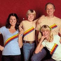 ¿A quién no le hubiera gustado tener esa foto familiar con la camiseta de Apple?