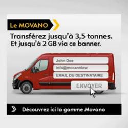 Opel Movano: la furgoneta que transporta archivos a través de la red