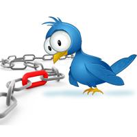 ¿Cuál es la mejor parte de los tweets para insertar un link?