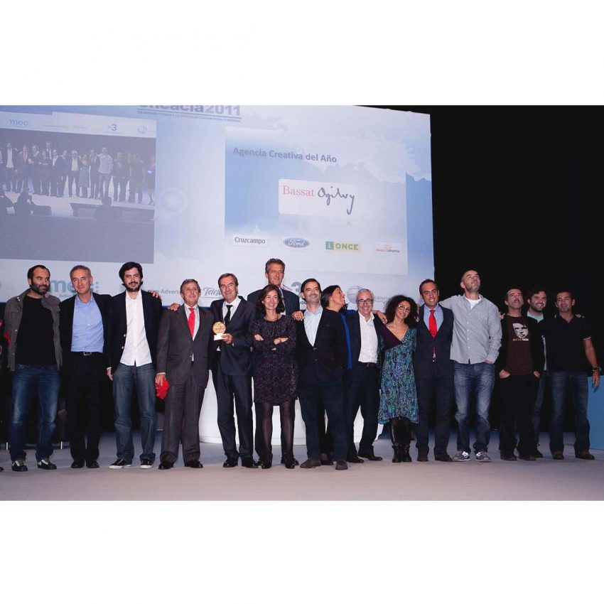 Bassat Ogilvy, agencia creativa del año en los Premios Eficacia 2011