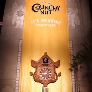 Kellog's da la hora en Hollywood con su reloj de cuco