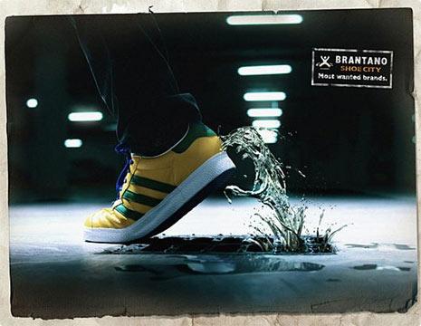 25 anuncios originales de zapatillas: cuando la publicidad