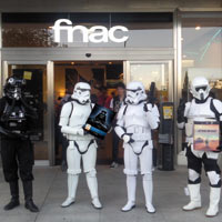 Gran éxito de ventas de Star Wars, La Saga Completa, en Blu-ray