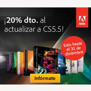 Adobe promociona la actualización a Adobe® Creative Suite® 5.5 con un 20% de descuento