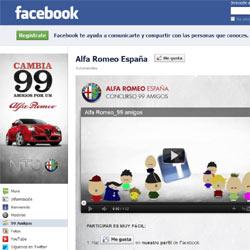 Un Alfa Romeo MiTo a cambio de 99 amigos en Facebook