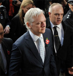 Julian Assange, fundador de WikiLeaks, podrá ser extraditado a Suecia