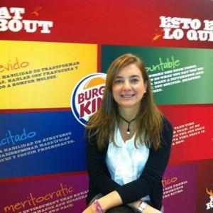 Burger King nombra a María González-Amézqueta nueva directora de marketing de la división mediterránea