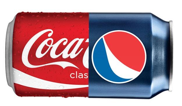 batalla entre coca cola y pepsi