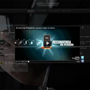 Un móvil para el presidente con las apps preferidas por los españoles