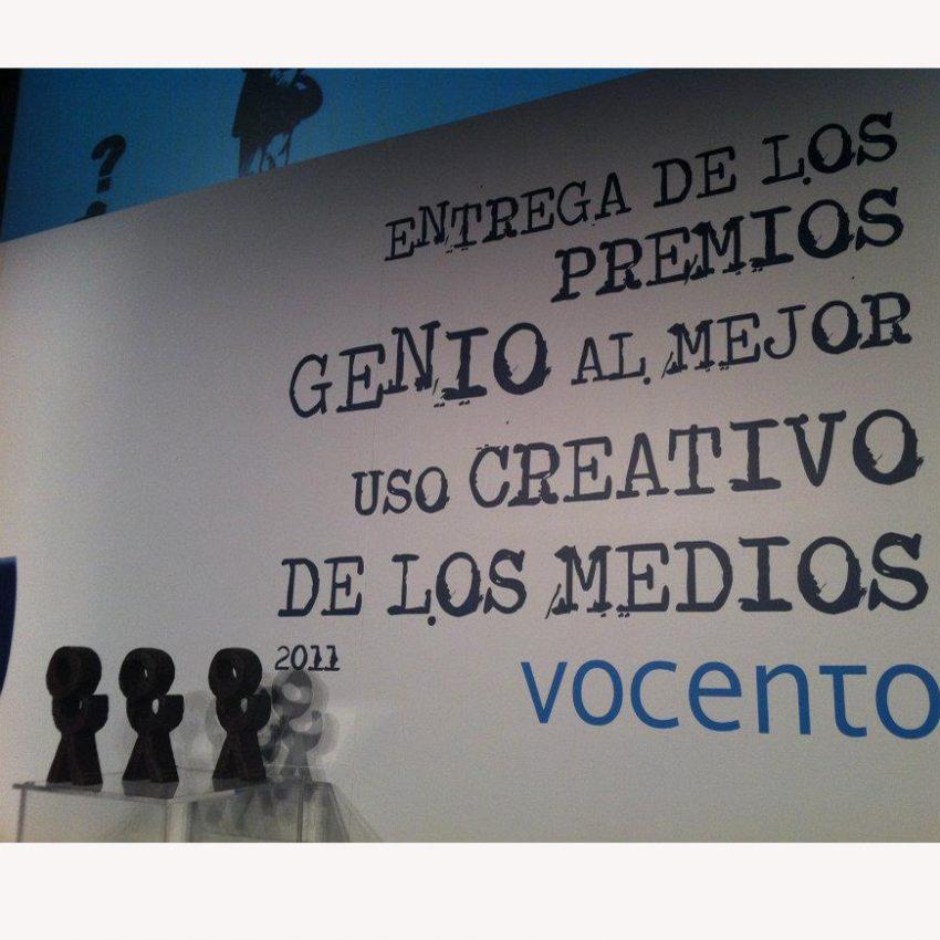 La agencia GAP'S, triunfadora en los Premios Genio 2011, repite en la categoría de Prensa