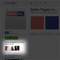 Las páginas de empresas en Google+ deberían modificar en parte su aspecto