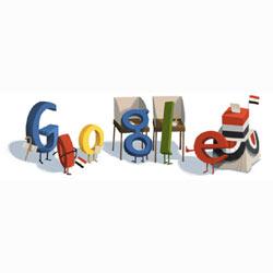 Google también vota en las elecciones egipcias