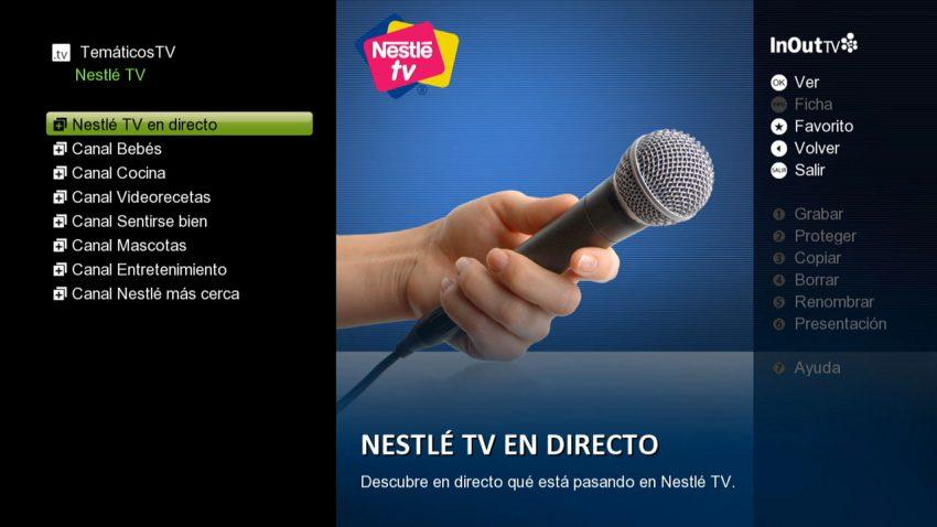 InOutTv apuesta por el branded content: llegan canales como Nestlé TV o RedBull TV