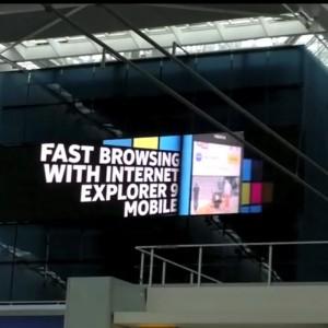 24 millones de euros y pantallas gigantes en Reino Unido para promocionar el Nokia Lumia 800