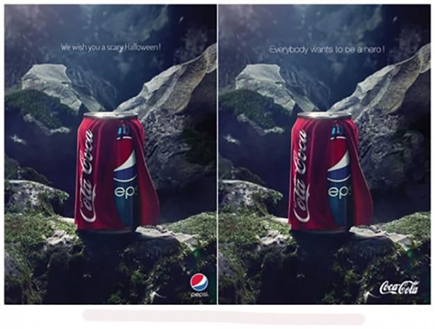 campaña halloween pepsi coca cola