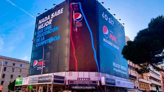 campaña navidad Pepsi 2019