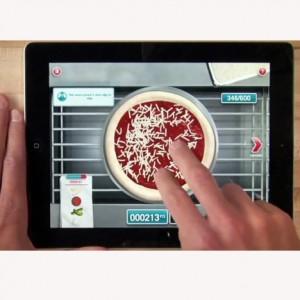 La pizza ahora se prepara en la pantalla de nuestro iPad