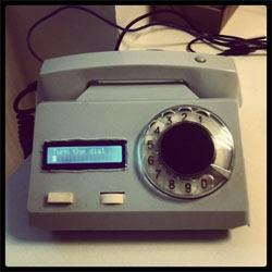 Tweephone: el dispositivo para twittear a la vieja usanza