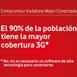 Campaña de marca de Vodafone sin sorpresas para precios y servicios