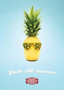 20 anuncios deliciosos hechos con comida