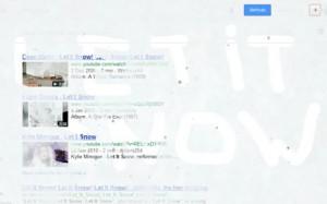Las primeras nevadas llegan también a… ¡Google!