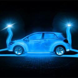 11 increíbles proyecciones en 3D sobre coches: el marketing de guerrilla se