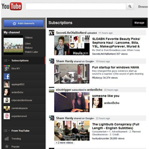 YouTube actualiza su diseño para convertirse en la nueva televisión social