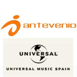 Universal Music Spain confía a Antevenio la representación comercial de los soportes web de sus principales artistas