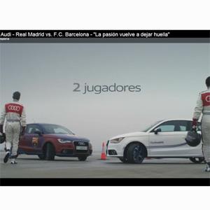 Audi también enfrenta a los dos equipos de 'El Clásico' en sus coches
