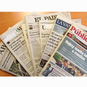 Desplome generalizado de difusión y ventas en la prensa generalista, según la OJD