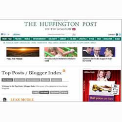 The Huffington Post contará con blogs patrocinados por los anunciantes en Reino Unido
