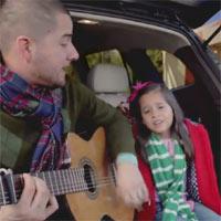 Hyundai celebra unas navidades participativas con Jorge y Alexa Narváez