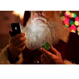 Apple Siri, el anuncio más efectivo de la campaña navideña... y es que ¡Santa vende!
