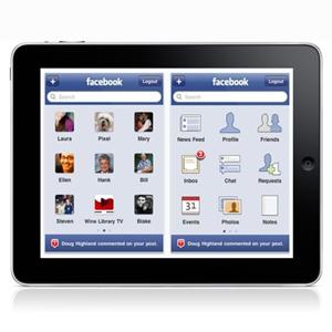 El Timeline de Facebook llegará al iPad en la segunda quincena de enero de 2012