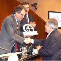José Ángel Abancéns, presidente de la Associació Empresarial de Publicitat, Premio Nacional de Comunicación 2011