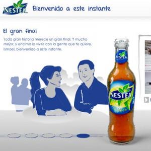 Campaña viral de Nestea para devolver a la realidad a un tuitero