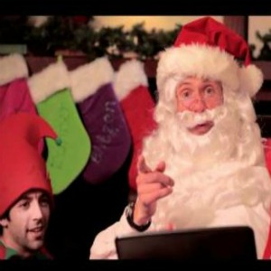 Google ayuda este año a Papá Noel y sus elfos a repartir los regalos