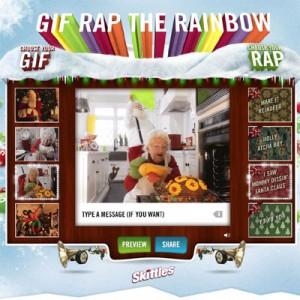 Cómo componer un rap navideño con Skittles