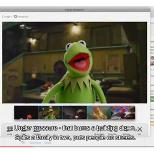 Google+ y Los Teleñecos promocionan las