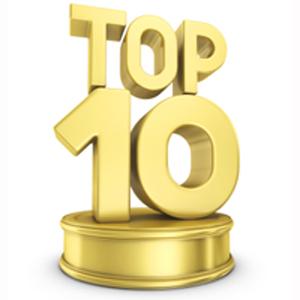 El top 10 de las listas de vídeos de 2011