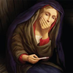 La Virgen María se entera de su embarazo por el