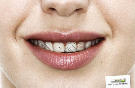 Marketing of colgate tooth paste