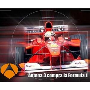 Cada anuncio en la F1 de Antena 3 costará entre 20.000 y 30.000 euros