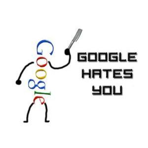 25 razones por las que Google odia tu blog