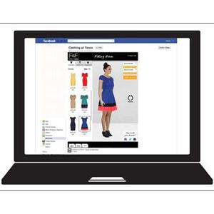 Tesco hace realidad el probador virtual personalizado a través de Facebook