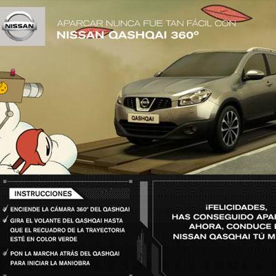 Nissan ha convertido un smartphone en mando a distancia del Qashqai 360